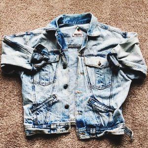 Other - oversized denim jacket